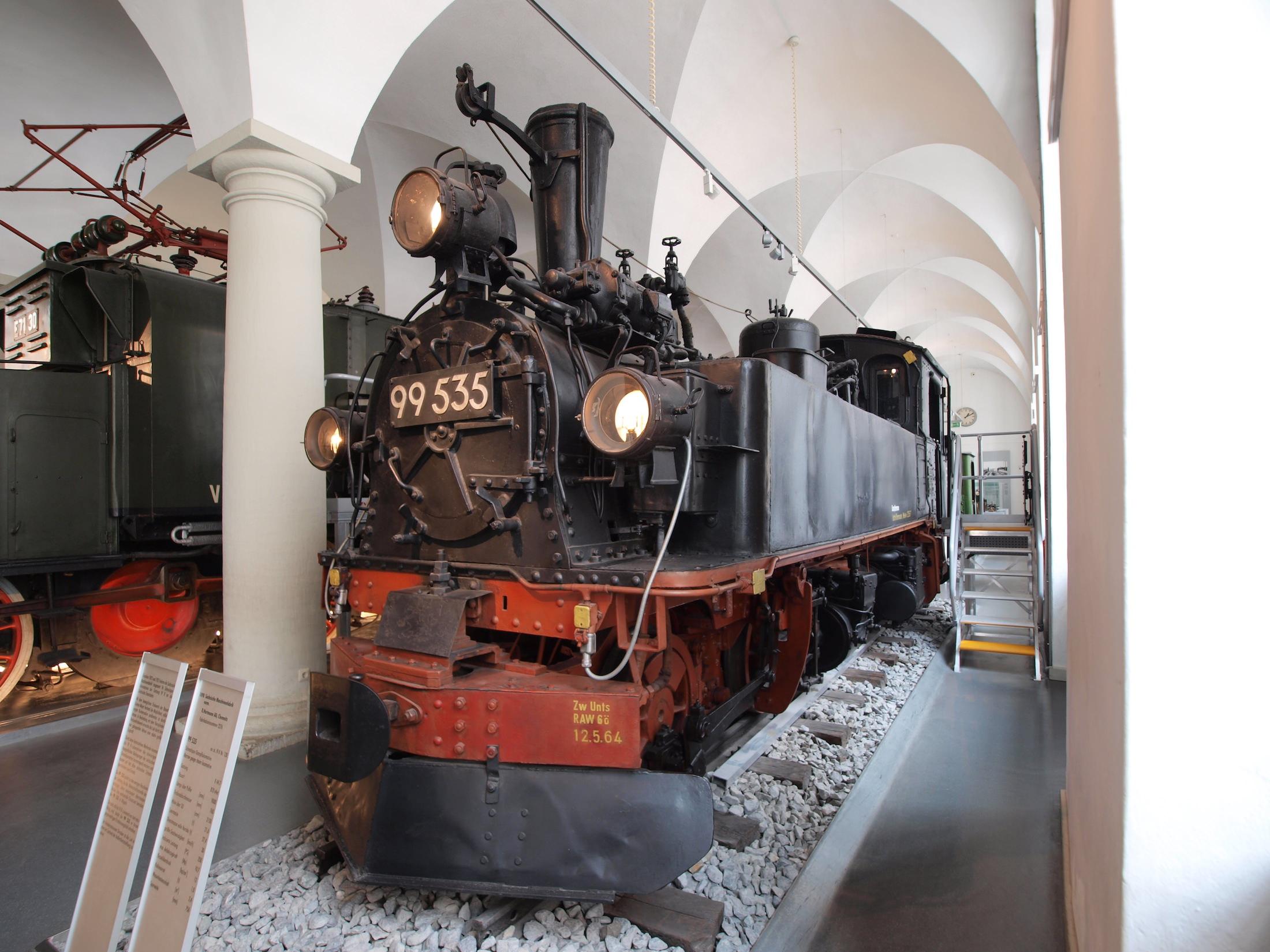 Dampflok 99 535