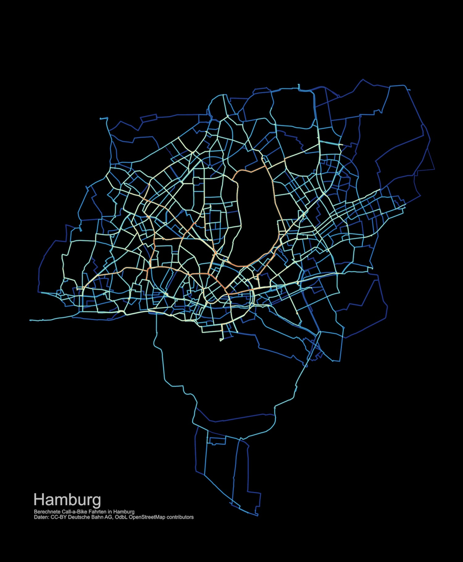 Heatmap Hamburg