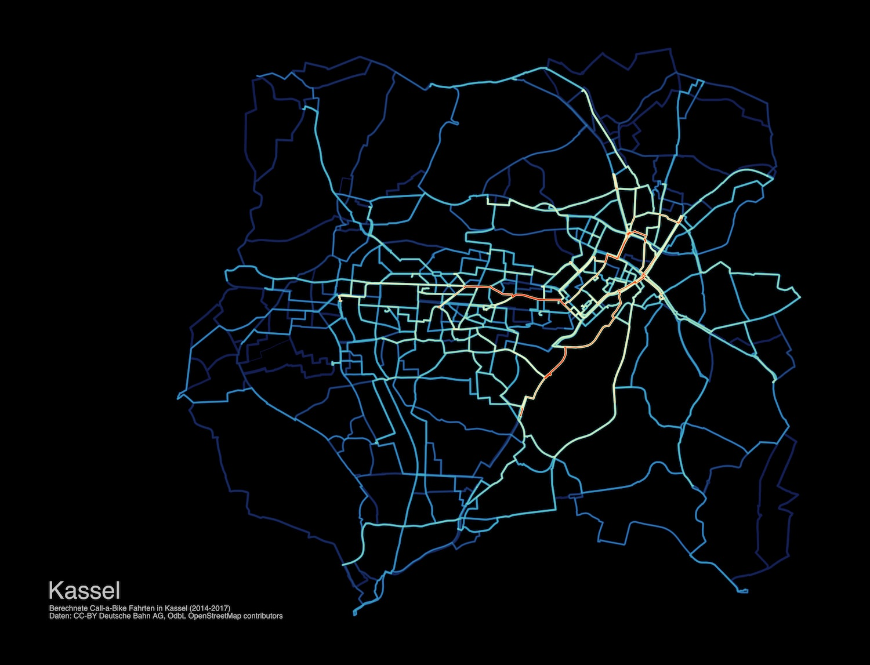 Heatmap Kassel