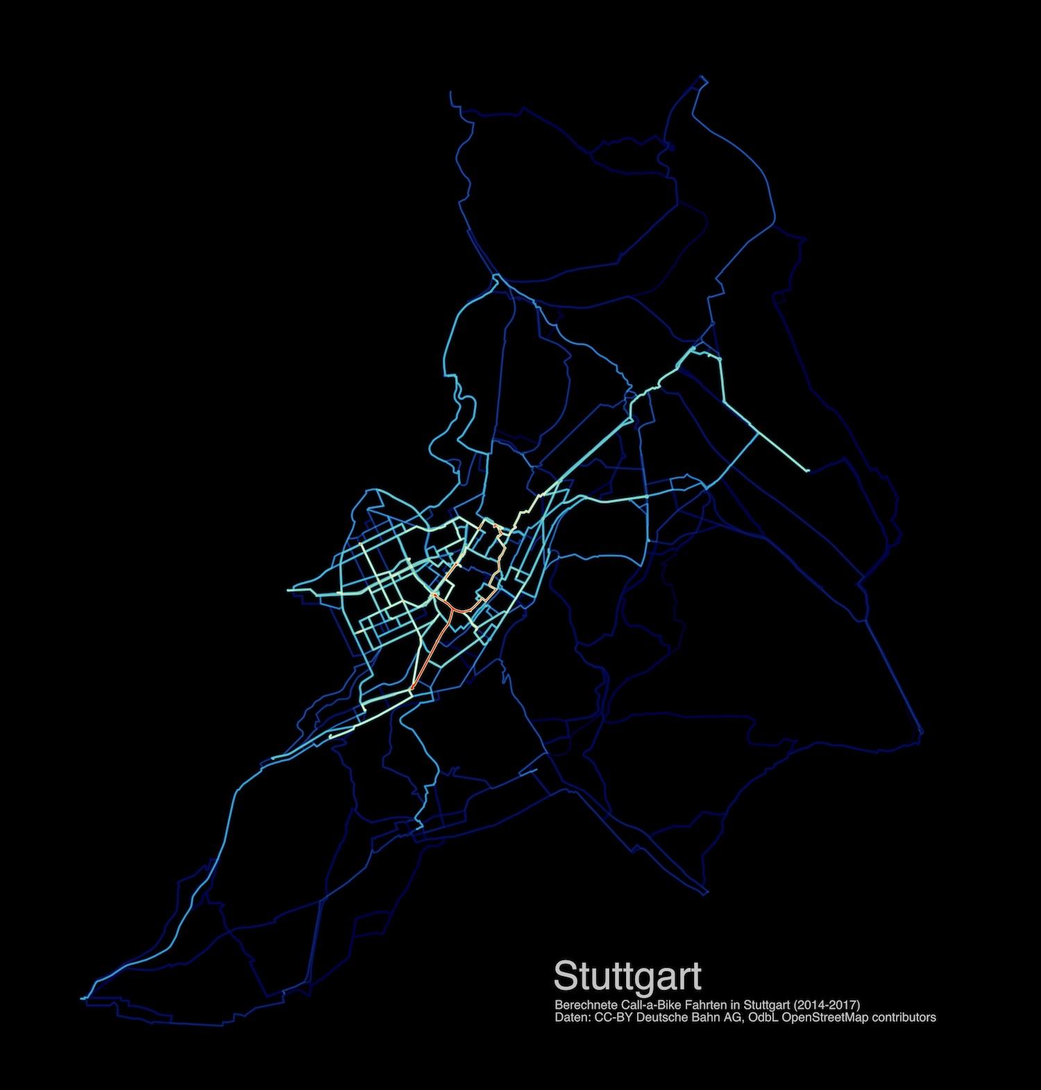 Heatmap Stuttgart
